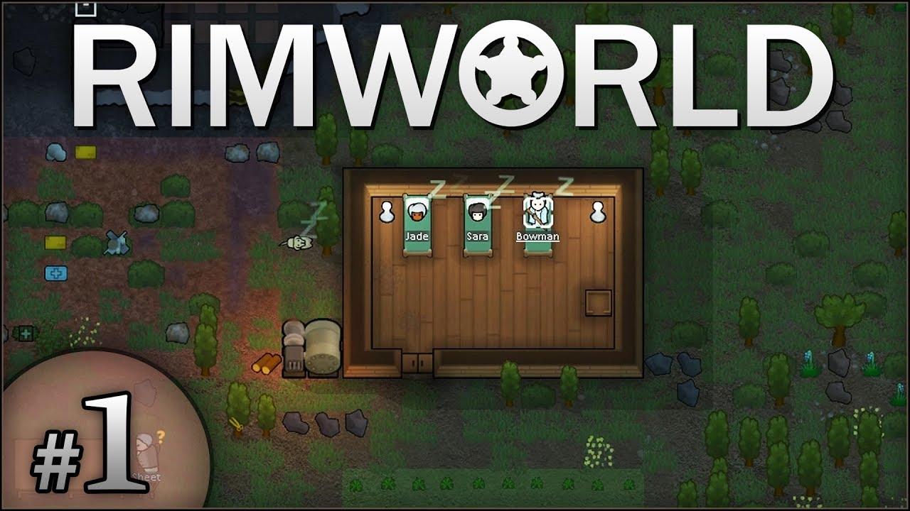 HUMBLE BEGINNINGS! - Rimworld #1 - Wilsonator