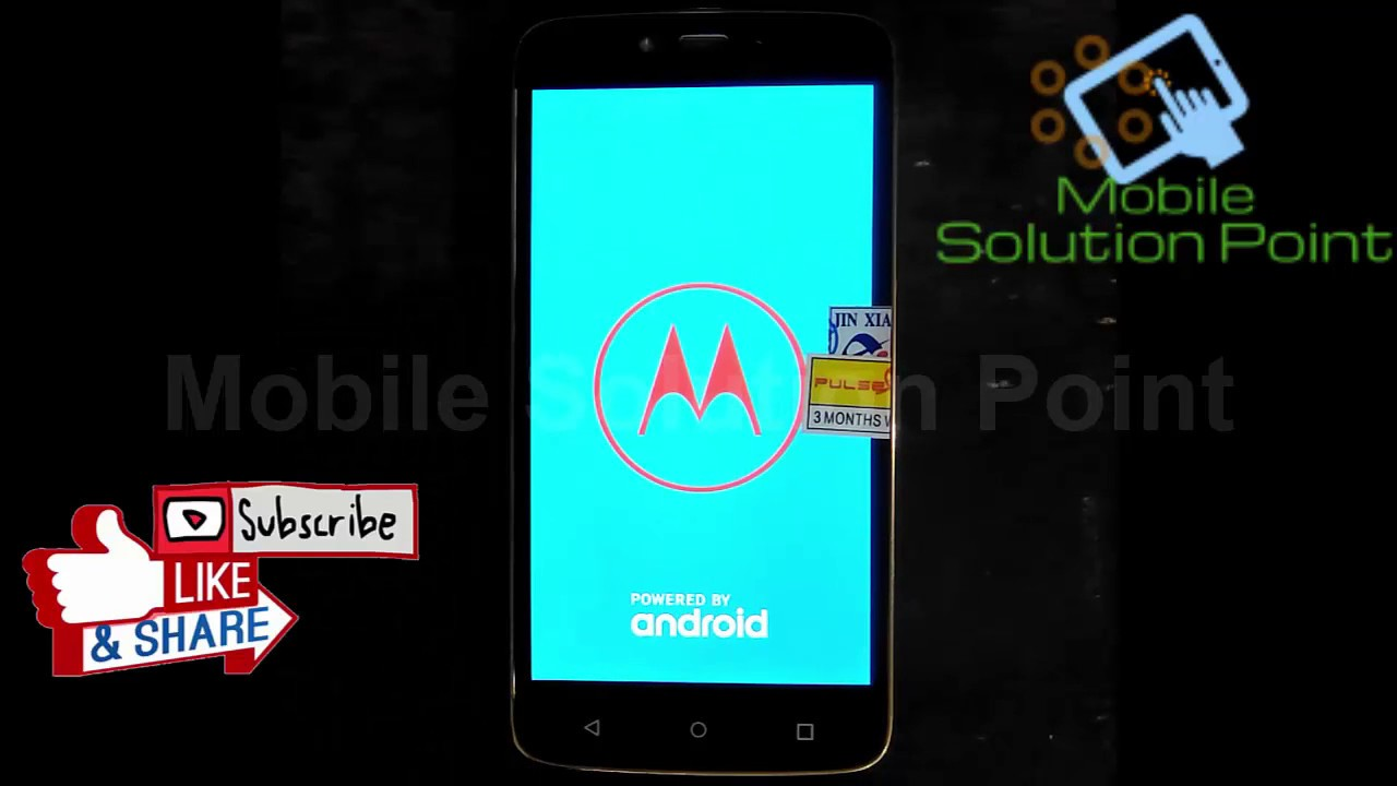 Moto XT1602 FRP Bypass 7 1 1 Without PC Method | Moto G Play Google Account  Lock Remove Done