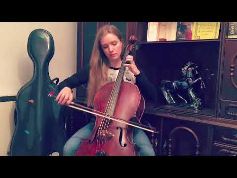 Playing Celtic music on the cello: the melody
