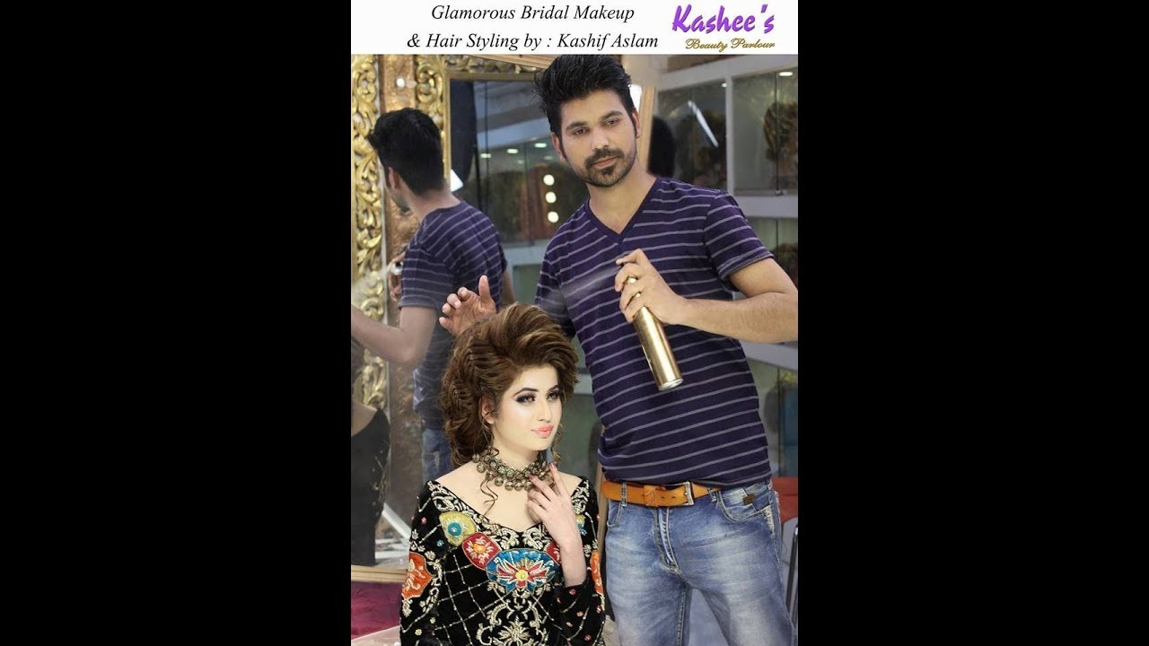Kashee S Artist Party Hair Style Charge For Long Medium Hair Style