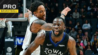 Golden State Warriors vs San Antonio Spurs | Dec. 31, 2019 | 2019-20 NBA Season | Обзор матча