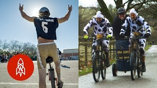 Unicycle Football and Other Unlikely Sports
