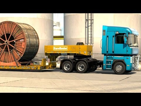 Euro Truck Simulator 2 Italia DLC - 34 Ton Cable Real from Taranto