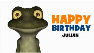 HAPPY BIRTHDAY JULIAN
