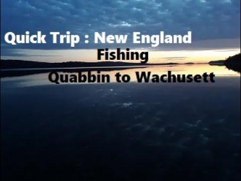 Quick Trip: New England Fishing Tour Quabbin To Wachusett