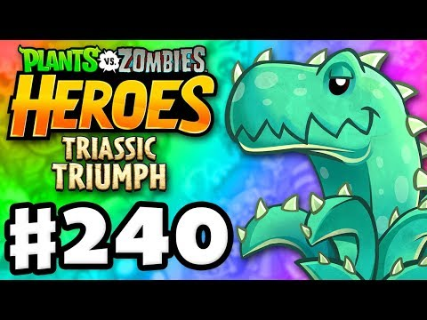 Aloesaurus Legendary! - Plants vs. Zombies: Heroes - Gameplay Walkthrough Part 240