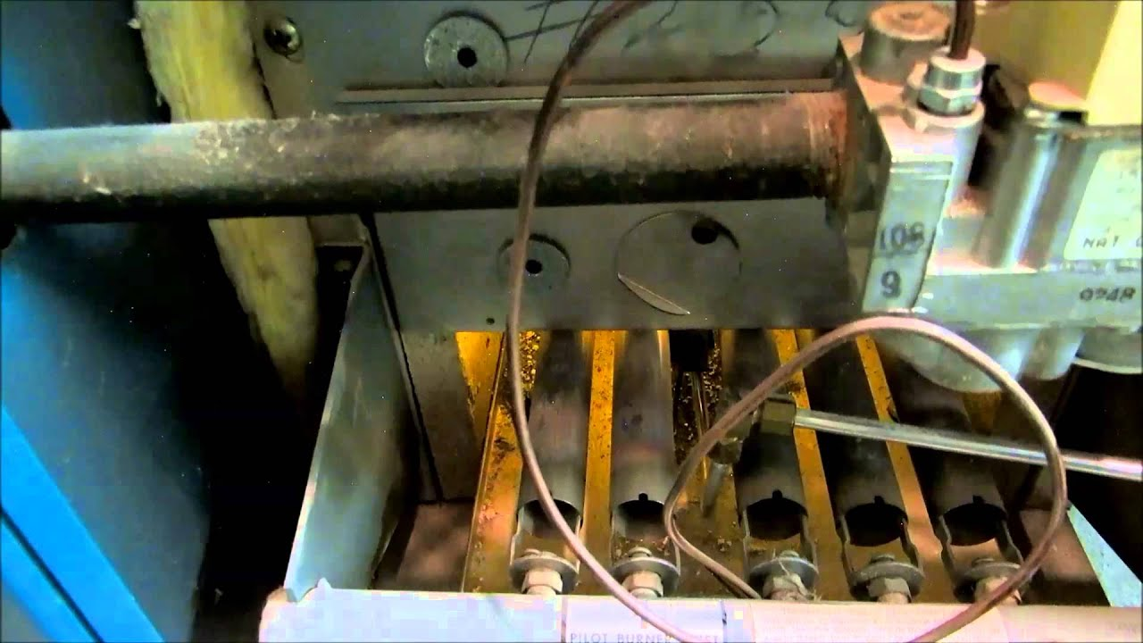testo 320 in action, burnham gas boiler clean @ check - YouTube