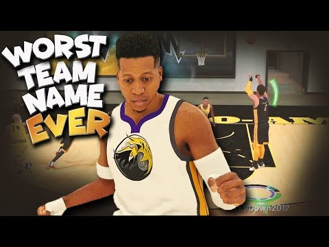 WORST Or Funniest Team NAME EVER? - NBA 2K19 Xbox One X Gameplay