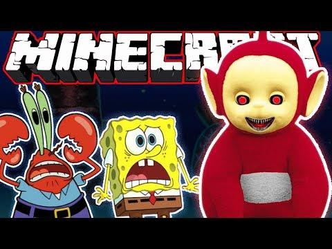 Minecraft | Teletubbies & SpongeBob