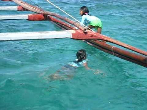 Roilo Golez family & friends, Looc Bay Fish Sanctuary Looc, Romblon, Philippines April '09 - 1