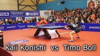 Timo Boll vs Kaii Konishi | Champions League 2019 Table Tennis