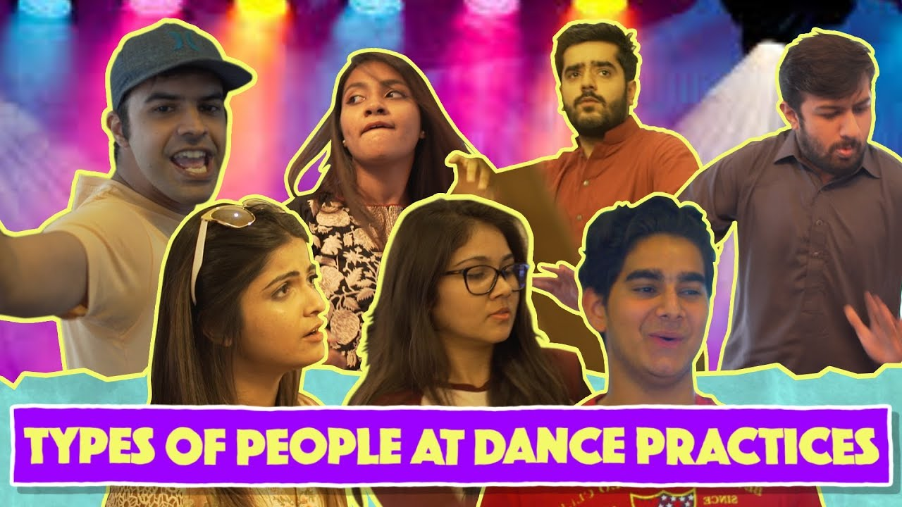 Types of People At Dance Practices | MangoBaaz