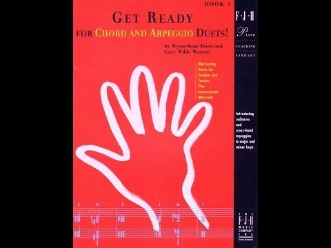 【599免運費】Get Ready for Chord and Arpeggio Duets!, 1【FJH1316】