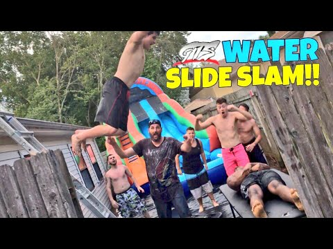 INCREDIBLE WATER SLIDE MATCH! WINNER BECOMES NUMBER 1 CHICKEN TENDER TO CHAMPIONSHIP!