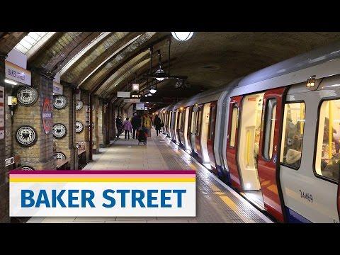 London Underground: Historic Baker Street Station