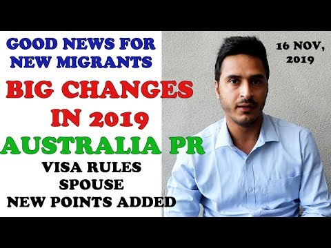 NEW AUSTRALIA VISA RULES 2019 || GOOD NEWS FOR NEW MIGRANTS