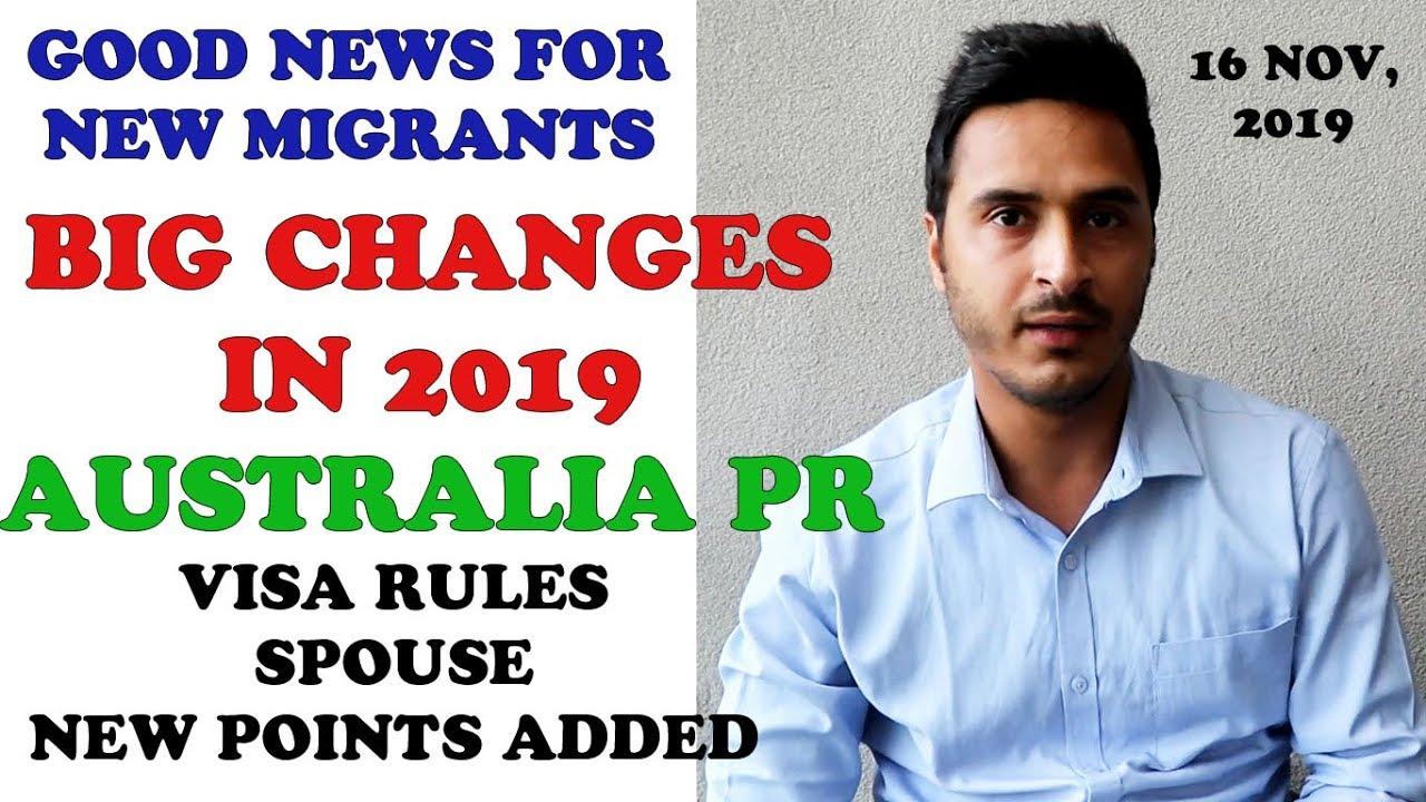 NEW AUSTRALIA VISA RULES 2019    GOOD NEWS FOR NEW MIGRANTS