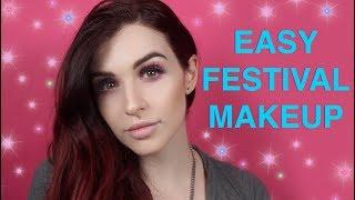 Easy Festival Makeup   tarte talk