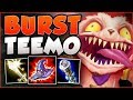 DON'T LET MY SIZE FOOL YOU! FULL AP BURST TEEMO IS LETHAL! TEEMO TOP GAMEPLAY! - League of Legends