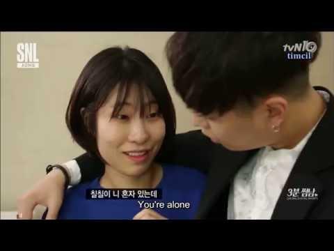 [ENG SUB] AOMG SNLK 3 Minutes Boyfriend Simon D