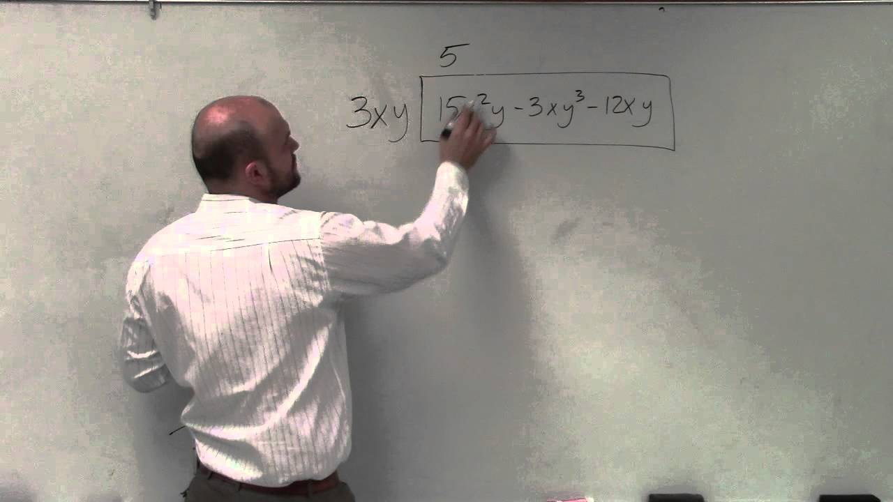 Tutorial Learn How To Factor A Polynomial With X And Y's By Factoring Out  The Gcf