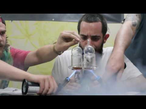 World Record one person smokes 31 Gram Dab