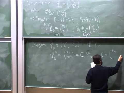 Lec 03 - Supersymmetry | University of Cambridge