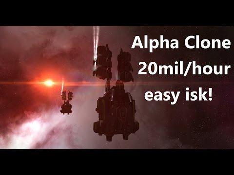 Eve Online - Ninja Gas Cloud Harvesting for Alpha clones easy isk.