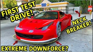 Building A Widebody Ferrari 458 Part 4