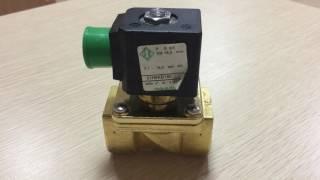 Обзор электромагнитного клапан непрямого действия ODE 21H9KB180 нормально закрытый