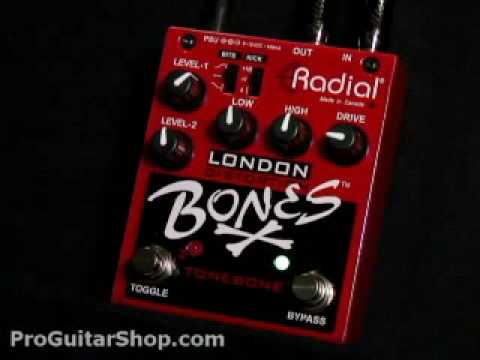 Radial London Bones Dual Distortion Pedal