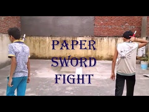 Paper Sword Fight by Action Crazy