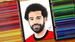 Drawing Mo Salah .... World Cup 2018