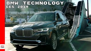 BMW Technology At CES 2019