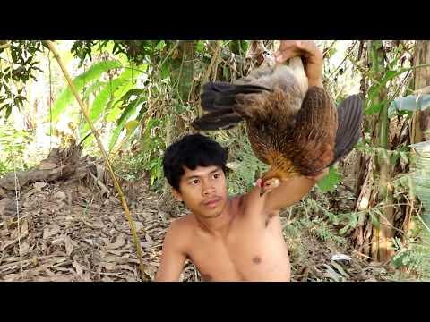 Sinh Tồn | Sống trong rừng một mình, Bẫy và Luộc Gà
