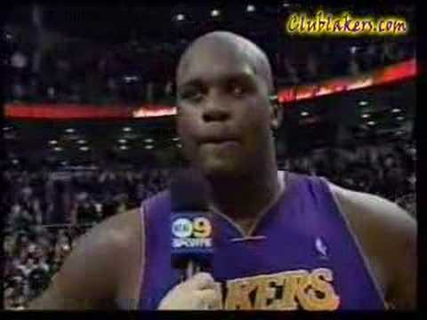 shaquille o 39 neal swears on live television youtube