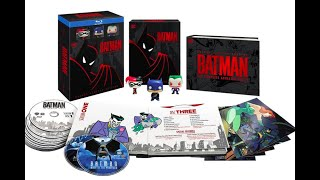 Batman The Animated Series Deluxe Limited Edition Unboxing