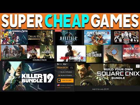 AWESOME PC GAME BUNDLES WITH SUPER CHEAP GAMES - GREAT PC GAME DEALS! thumbnail