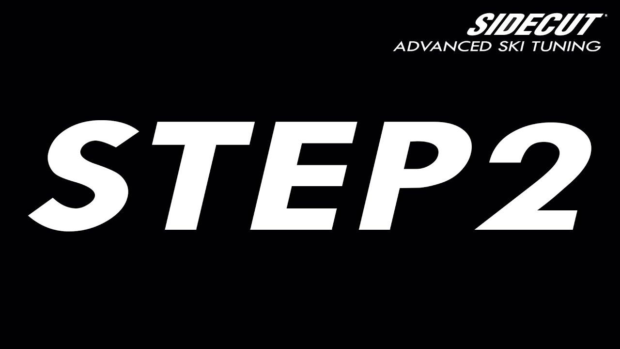 Ski Tuning Advanced - step 2