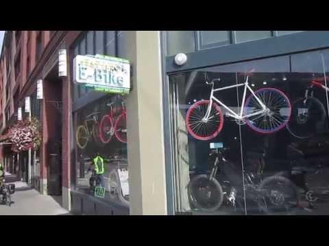 Seattle E-Bike---Shop Visit