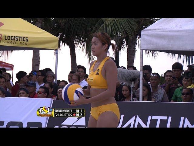 STANDARD INSURANCE NAVY B VS. F2 LOGISTICS - SET 1  | PSL Beach Volleyball 2016