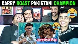 Pakistani Reaction on | NOT A DARING SHOW FT. WAKAR ZAQA | CARRYMINATI