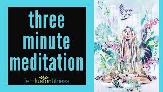 3-Minute Meditation 🧘 Follow-Along 🧘 3x3x3 Method