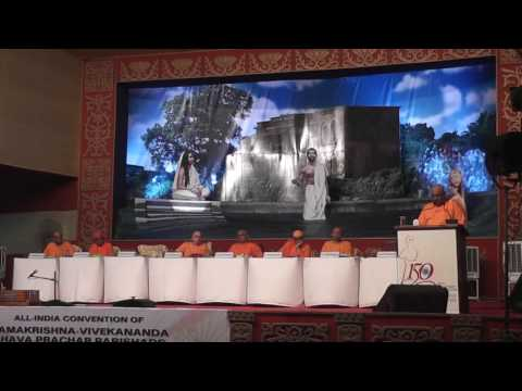 Vote of Thanks by Swami Divyananda   #RamakrishnaMathAndMission