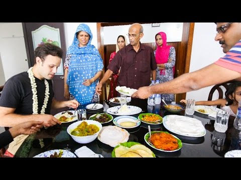 AMAZING Indian Food in Kerala, India | BEST Indian Food Homemade Indian Cuisine