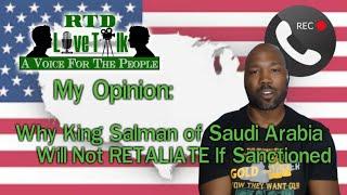 Why Saudi Arabia Will Not Retaliate if Sanctioned