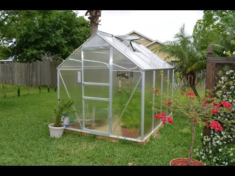 Review of the Harbor Freight greenhouse 6x8 ft item # 47712
