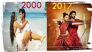 Top movie of every year 2000 to 2017 तक with their budget Indian collection and worldwide