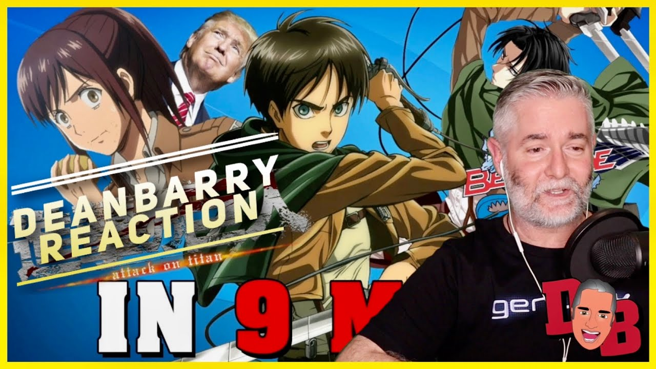 Attack on Titan IN 9 MINUTES REACTION - YouTube