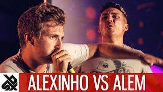 ALEXINHO vs ALEM | Fantasy Battle | World Beatbox Camp